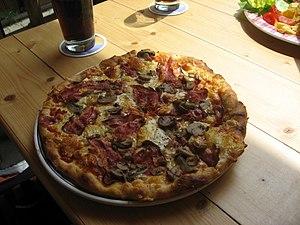 Česky: Pizza