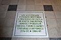 Placa a l'església de sant Francesc de Paula, el Ràfol d'Almúnia.JPG