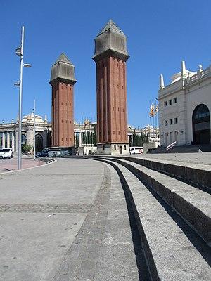 Plaça d'Espanya, Barcelona - The Venetian towers