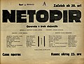 Plakat za predstavo Netopir v Narodnem gledališču v Mariboru 4. februarja 1930.jpg
