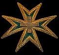 Plaque Chevalier 1ère classe Ordre de Saint Lazare et de Notre Dame du Mont Carmel.JPG