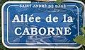 Plaque allée Caborne St André Bâgé 1.jpg
