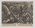 Plate 27- The Dutch During a Surprise Attack of the Roman Camp on the Moselle, from The War of the Romans Against the Batavians (Romanorvm et Batavorvm societas) MET DP863202.jpg
