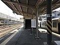 Platform of Araki Station (Kagoshima Main Line) 2.jpg