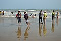 Playful People with Sea Waves - New Digha Beach - East Midnapore 2015-05-01 8787.JPG