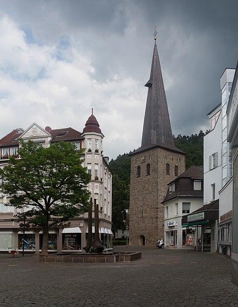 File:Plettenberg, die evangelische Christuskirche Dm9 in straatzicht foto6 2017-06-04 12.49.jpg