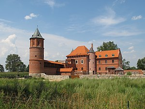 Jonas Goštautas - Tykocin Castle, commissioned by Goštautas in 1433