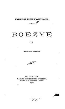 Poezye T 2 Wikiźródła Wolna Biblioteka
