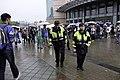 Police officers of TCPD Da'an Precinct in front of NTUSC 20181209.jpg