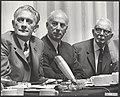 Politieke partijen, congressen, Bakker J, Roolvink, Bauke, Roosjen, Anton, Utre, Bestanddeelnr 092-0553.jpg