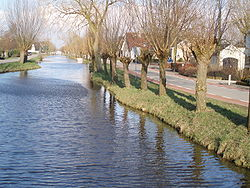 Canal through Polsbroek