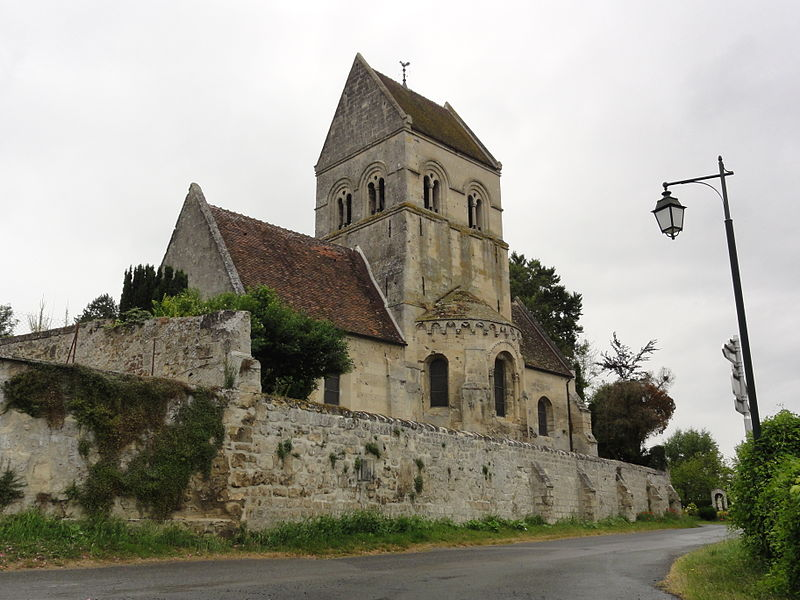 Pont-Saint-Mard (Aisne) église
