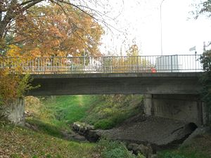 Chêne-Bougeries - Bochet Bridge over the Seymaz