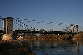 Châtillon-sur-Loire - The suspension bridge