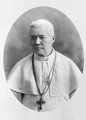Pope Pius X - Image: Pope Pius X (Retouched)