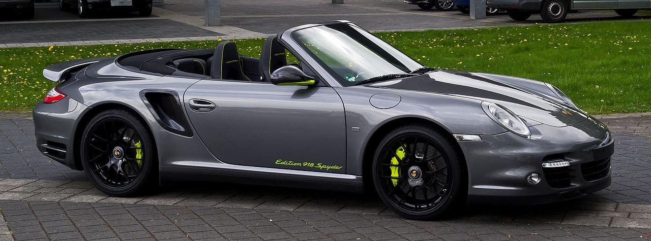 file porsche 911 turbo s cabriolet edition 918 spyder 997 facelift frontansicht 1 10. Black Bedroom Furniture Sets. Home Design Ideas