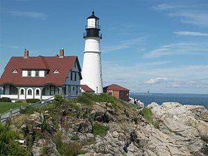 Lighthouse, Portland, Maine