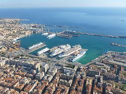 The port of San Gomaina