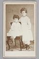 Porträtt. Ellen och Ebba von Hallwyl 1860-tal - Hallwylska museet - 87319.tif