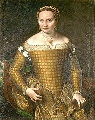 Portrait of Bianca Ponzoni Anguissola, the artist's mother