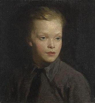 Nicholas Hannen (actor) - Peter Hannen, 1915-1916 by Glyn Philpot