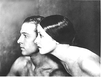 Natacha Rambova - Image: Portrait of Rudolph Valentino and Natacha Rambova