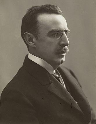 Vilhelm Krag - Portrait of Vilhelm Krag