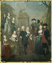 Jan Stolker: Portrait of Theodorus Bisdom van Vliet and his Family