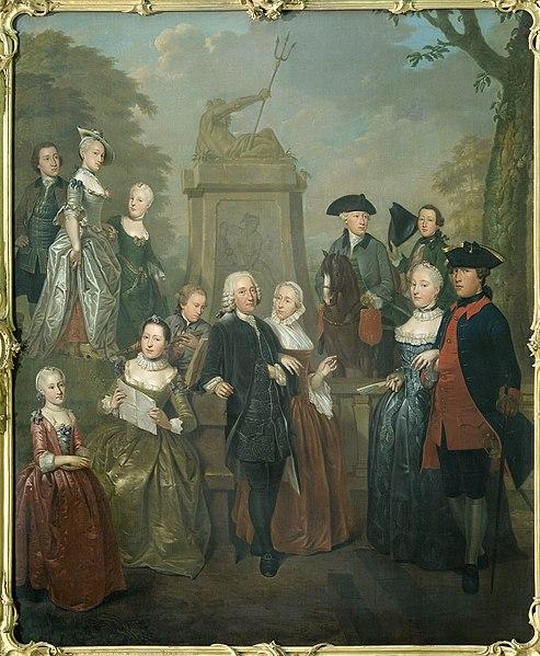 File:Portret van Theodorus Bisdom van Vliet en zijn gezin Rijksmuseum SK-A-3830.jpeg