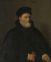 Portrait of an Old Man, probably Vercellino Olivazzi, Senator from Bergamo