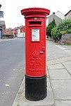 Post box on Walton Village, Walton, Liverpool.jpg