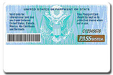 Can i use a passport card to fly within the us