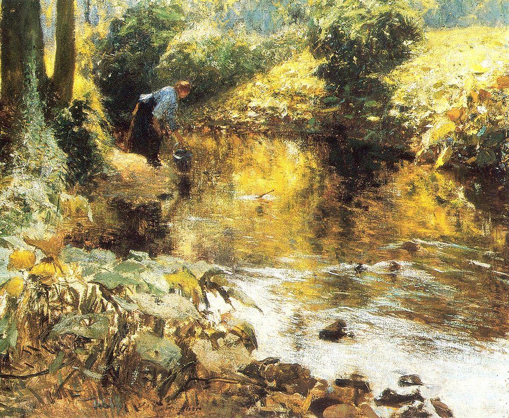 Près de la rivière. Эварист Carpentier.jpg