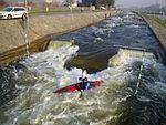 Prague-Troja Canoe Slalom Freestyle Wave.jpg