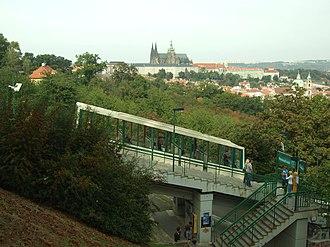 Petřín funicular - Nebozízek station