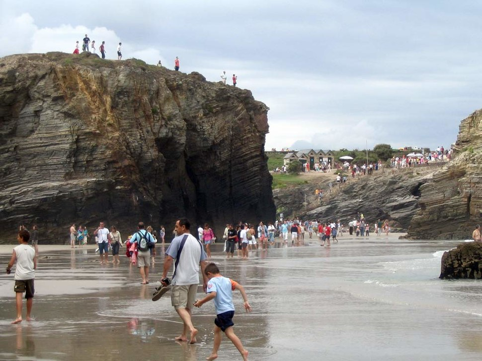 Praia das Catedrais. Ribadeo