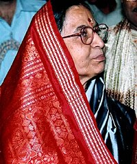 Pratibha Patil as Governor of Rajasthan