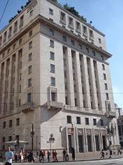 O Edifício Matarazzo, sede da Prefeitura de São Paulo no centro.