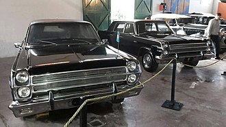 Industrias Kaiser Argentina - Rambler Ambassador produced in 1968 for the President of Argentina.