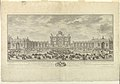 Print, Elevation of the Terrace of Versailles for the celebration of the birth of a royal prince, the Duke of Burgundy. After - Slodtz., 1752 (CH 18657853).jpg