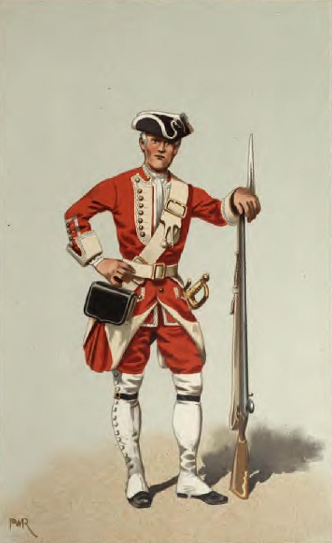 Private man, 40th 1742