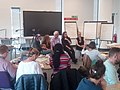 Prof Hazel H leads RIVAL panel at Edinburgh Napier Uni ery in 2019.jpg