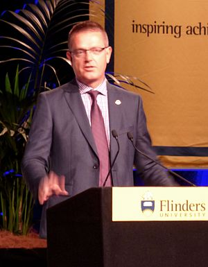 Flinders University - Prof. Colin Stirling, Vice Chancellor (2015-present)
