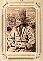 Profilporträtt av änkan Ristin Menlös f. Pantsi, 44 år, Tuorpons sameby. Lotten von Düben 1868 - Nordiska Museet - NMA.0033103 1.jpg