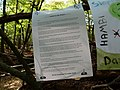 Protest sign in the Hambach forest 08.jpg