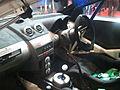 Proton Satria Neo Rally Car interior - 2011 Tokyo Auto Salon.jpg