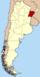 Lage der Provinz Corrientes