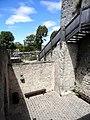 Provins (77), tour César, cour intérieure, vue vers l'ouest.jpg