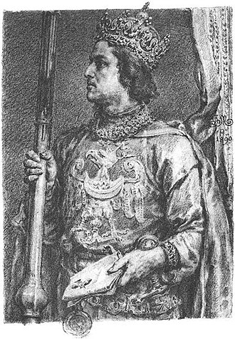 Przemysł II - 19th century depiction by Jan Matejko.