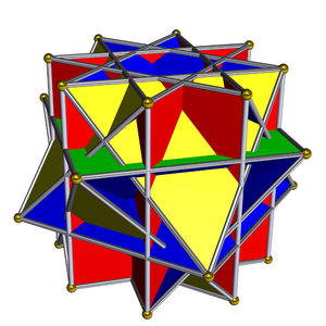 Crossed square cupola - Image: Pseudo great rhombicuboctahedron